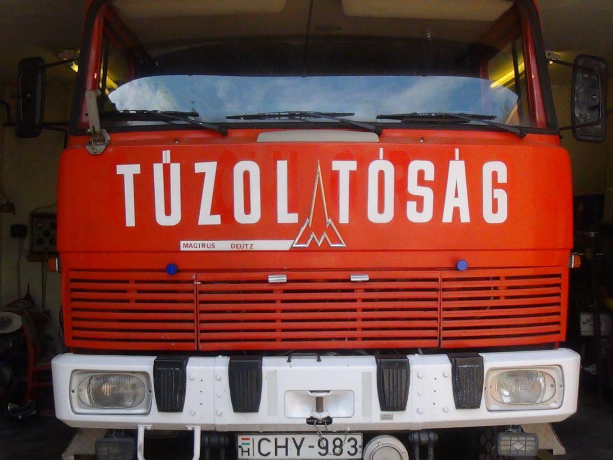 Ópusztaszeren oltottak tüzet a balástyai önkéntesek