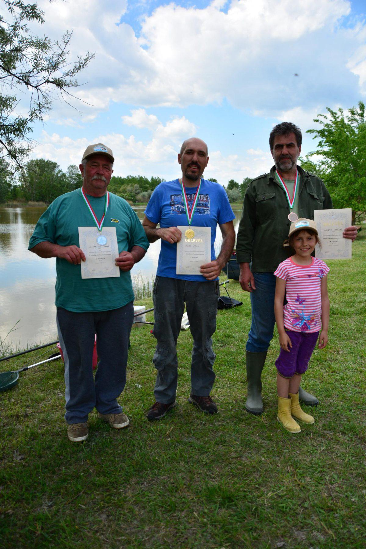 Nevezéses horgászversenyt tartott a Balástyai Alkotmány Horgász Egyesület