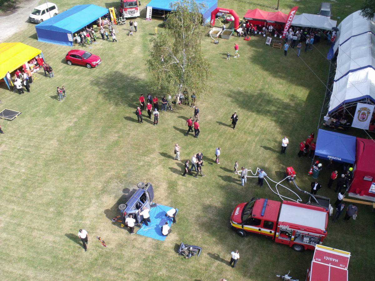 A tűzoltók országos szakmai napot tartottak Balatonföldváron