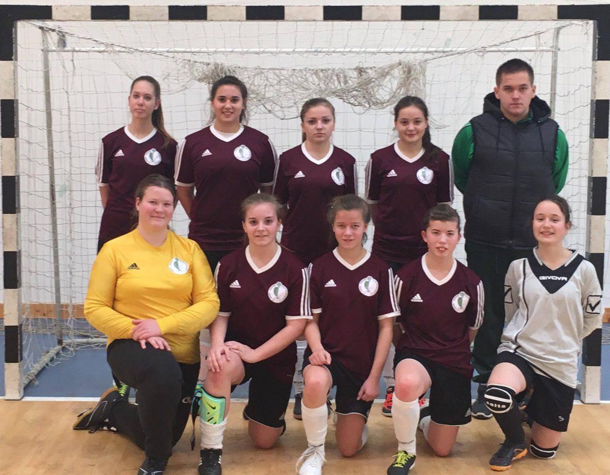 Döntőben az U17-es lánycsapat!