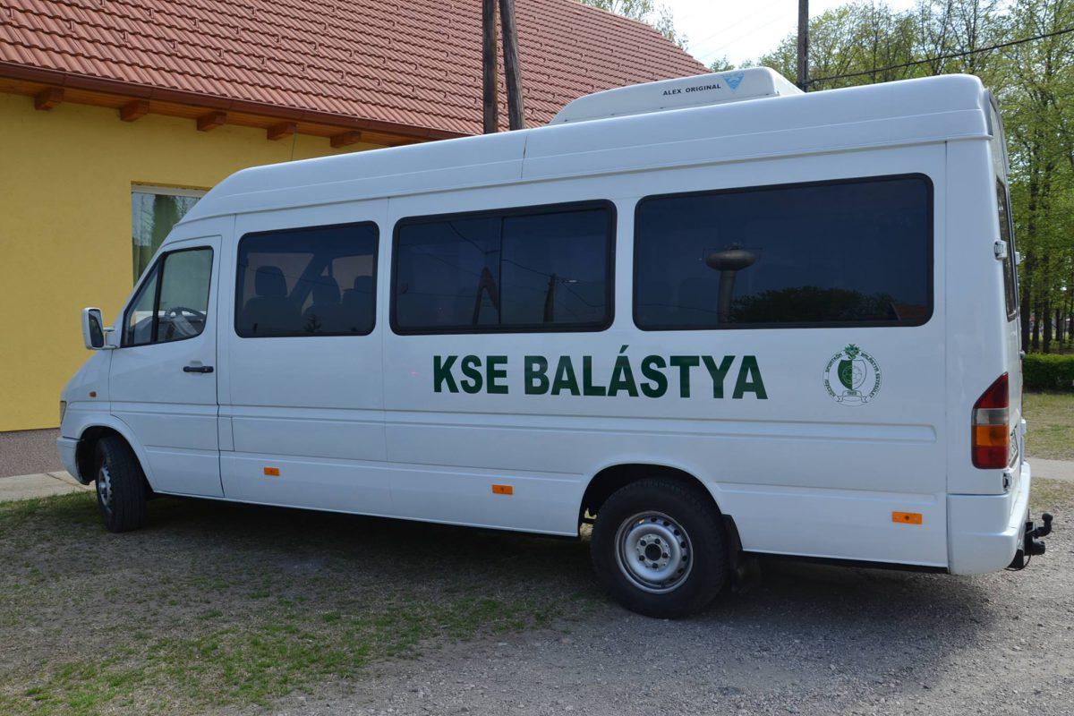 Külön busszal utaznak a balástyai sportkör utánpótlás csapatai