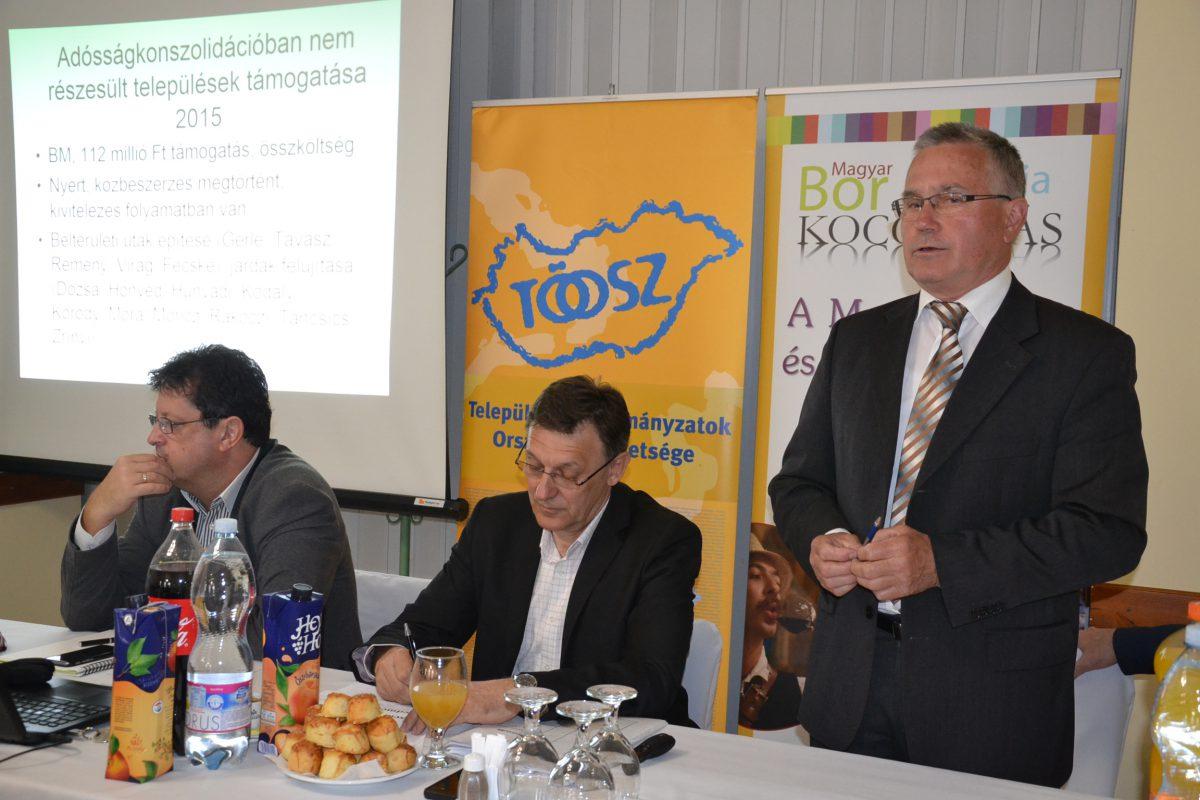 Balástyán tartott megyei fórumot a Települési Önkormányzatok Országos Szövetsége