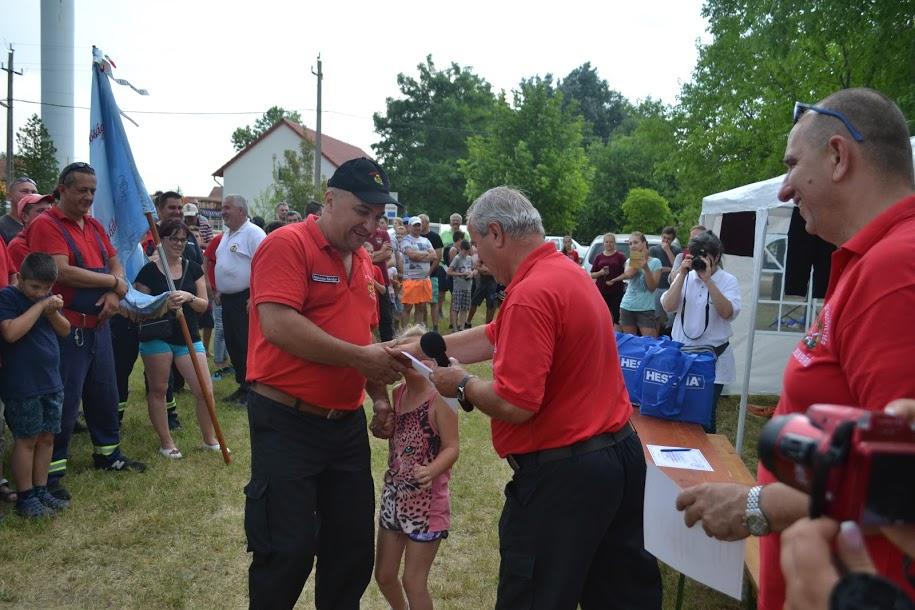 A megyei tűzoltóversenyen másodikak lettek a balástyaiak