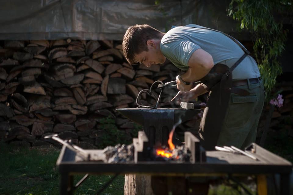 A balástyai származású Kordás István első lett a vései kovácsversenyen