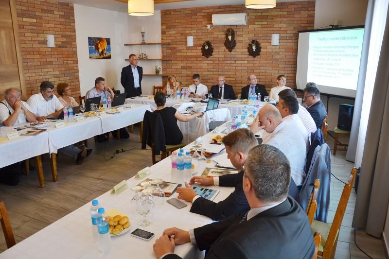 Balástyán ülésezett a Csongrád Megyei Közgyűlés