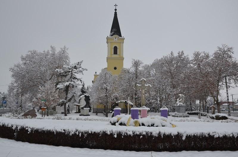 Balástya téli képei