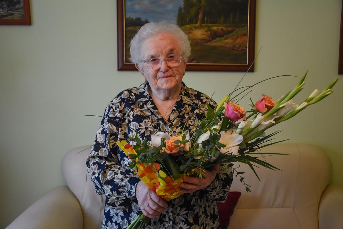 Fődi Dezsőné 95 éves